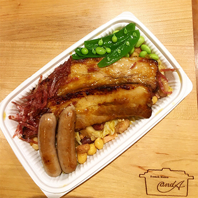 明日14日の本日のお料理は・・・豚バラ肉の煮込み カルボナード